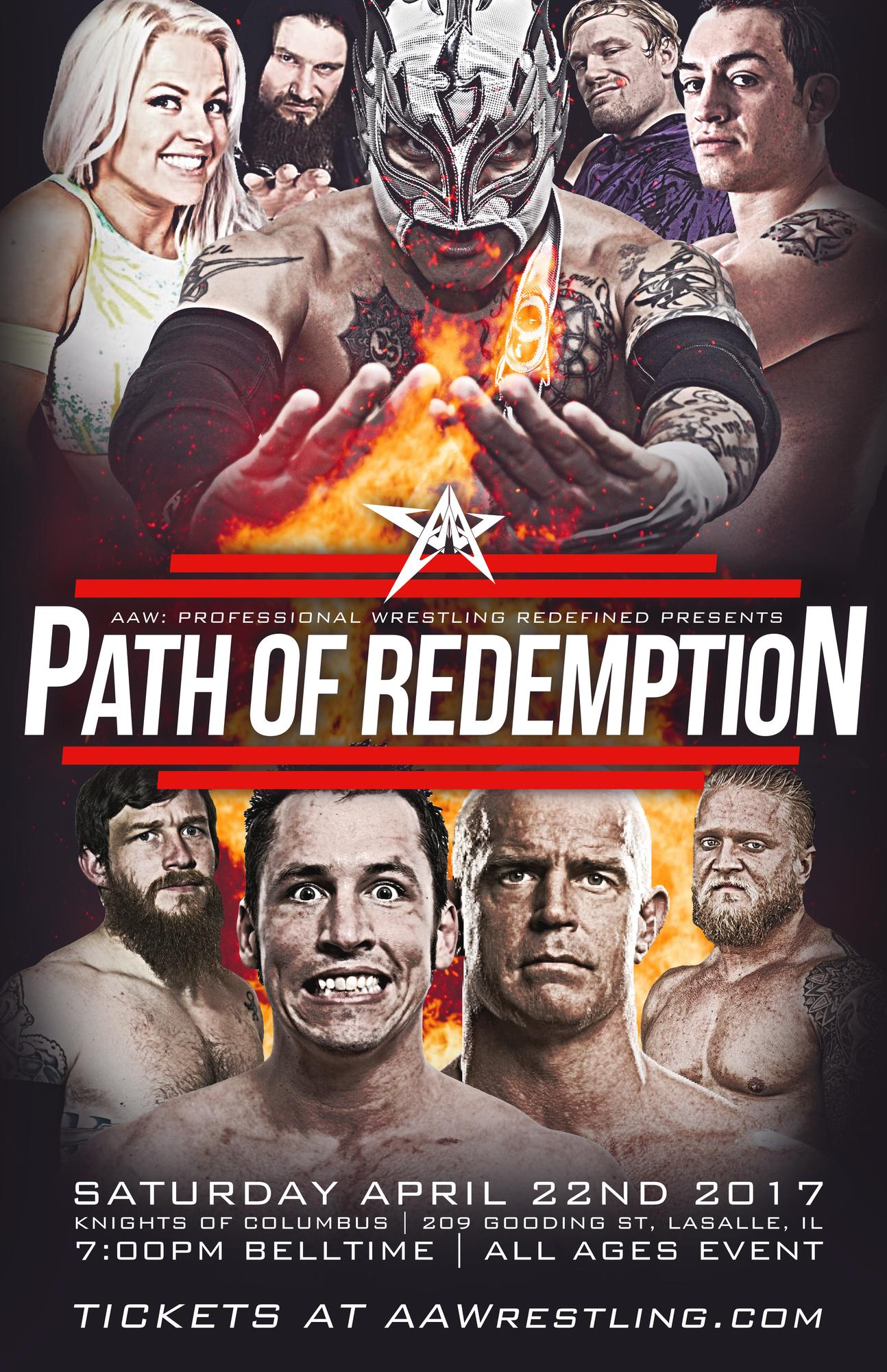 AAW Path Of Redemption 2017