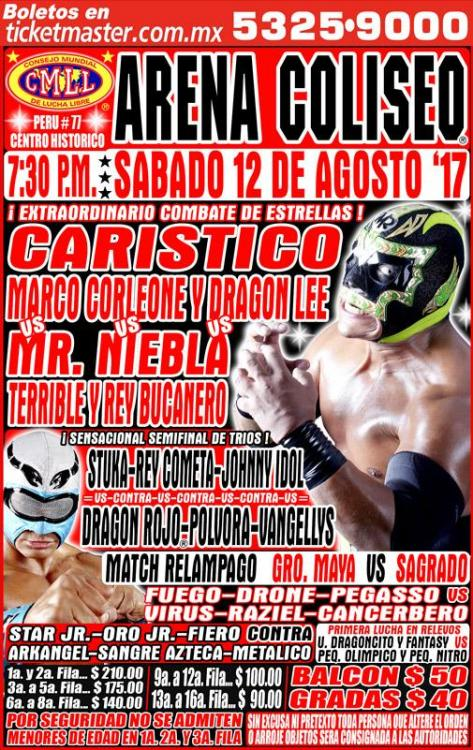 CMLL Sabados De Coliseo (August 12, 2017)