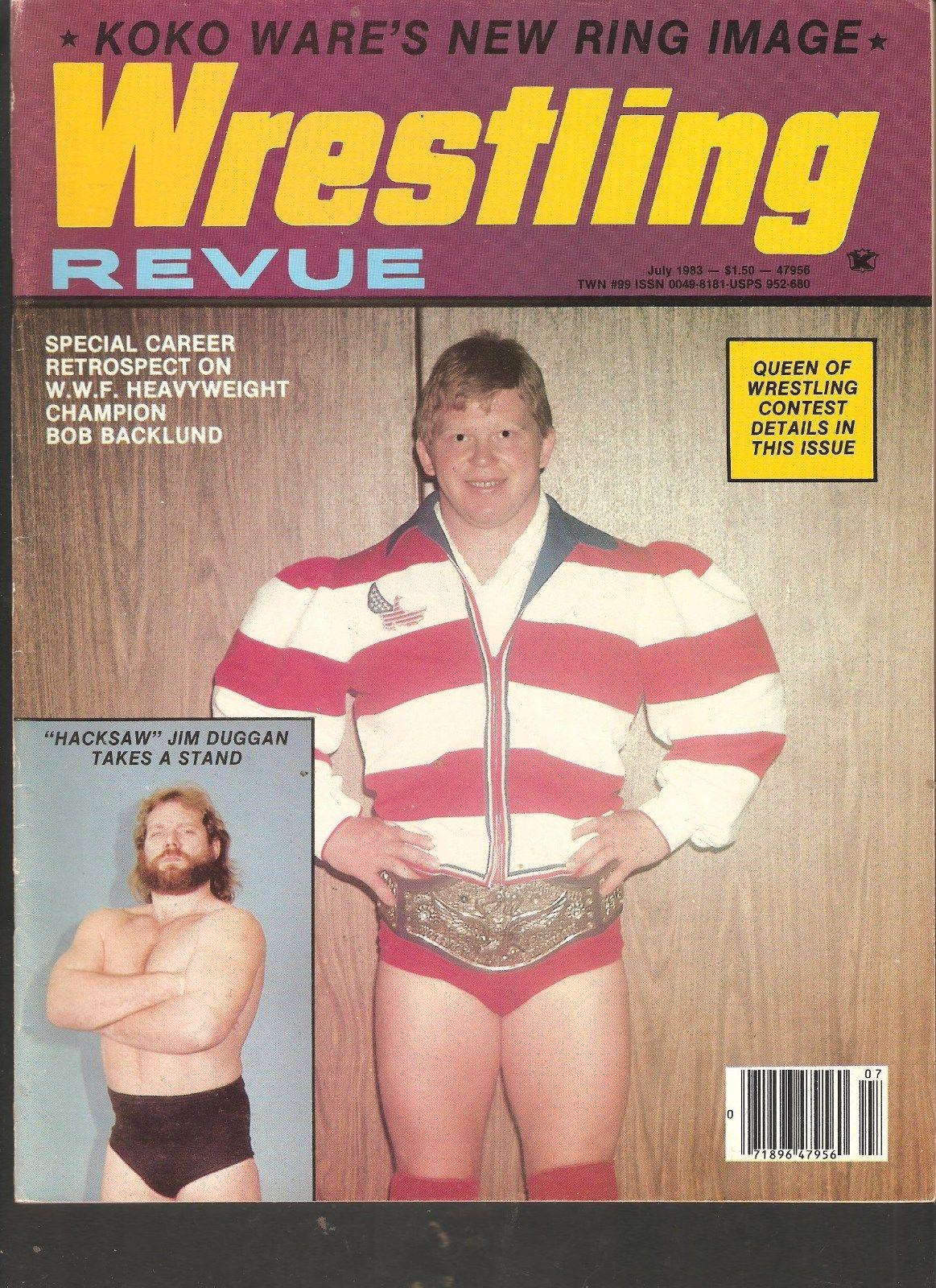 Wrestling Revue - July 1983