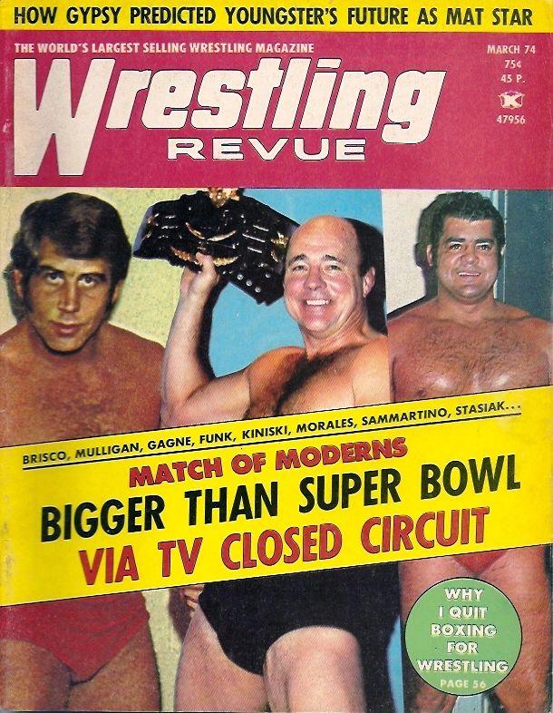 Wrestling Revue - March 1974