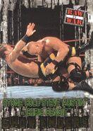 2001 WWF RAW Is War (Fleer) Stone Cold Steve Austin vs. Chris Benoit 87