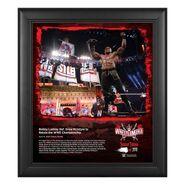 Bobby Lashley WrestleMania 37 15x17 Commemorative Plaque