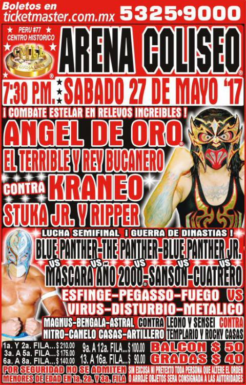 CMLL Sabados De Coliseo (May 27, 2017)