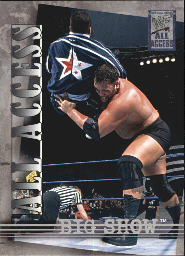 2002 WWF All Access (Fleer) Big Show (No.47)
