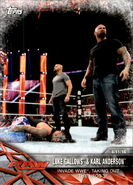 2017 WWE Road to WrestleMania Trading Cards (Topps) Luke Gallows & Karl Anderson 76