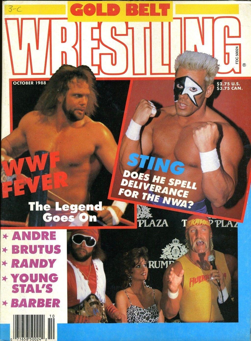 Gold Belt Wrestling - October 1988