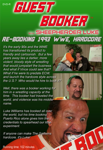 Guest Booker with Bushwacker Luke