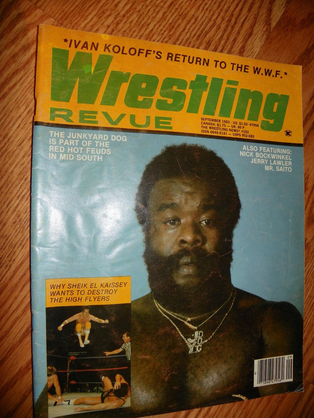Wrestling Revue - September 1983