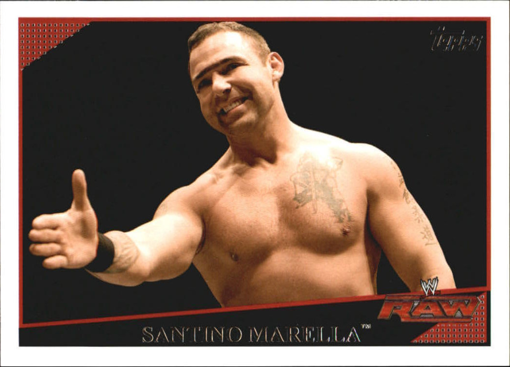2009 WWE (Topps) Santino Marella (No.40)