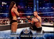2018 WWE Road to Wrestlemania Trading Cards (Topps) John Cena 80