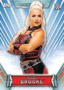 2019 WWE Women's Division (Topps) Dana Brooke 4