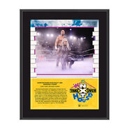 Karrion Kross NXT TakeOver In Your House 2020 10 x 13 Limited Edition Plaque