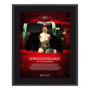 Sheamus WrestleMania Backlash 2021 10x13 Commemorative Plaque