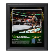 The New Day Money In The Bank 2016 15 x 17 Framed Photo w Ring Canvas