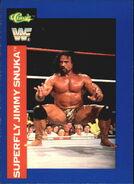 1991 WWF Classic Superstars Cards Superfly Jimmy Snuka 95