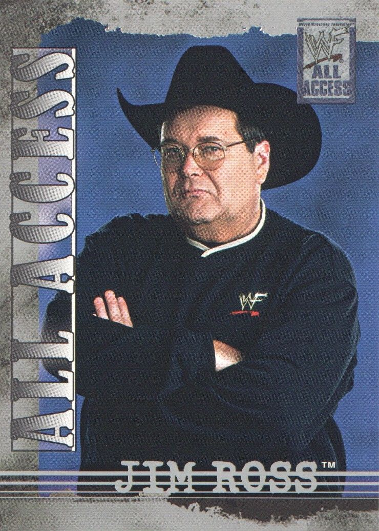 2002 WWF All Access (Fleer) Jim Ross (No.36)