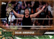 2017 WWE Road to WrestleMania Trading Cards (Topps) Dean Ambrose 94