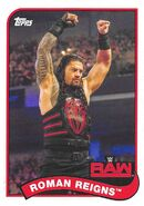 2018 WWE Heritage Wrestling Cards (Topps) Roman Reigns 63