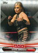 2019 WWE Raw Wrestling Cards (Topps) Dana Brooke 21