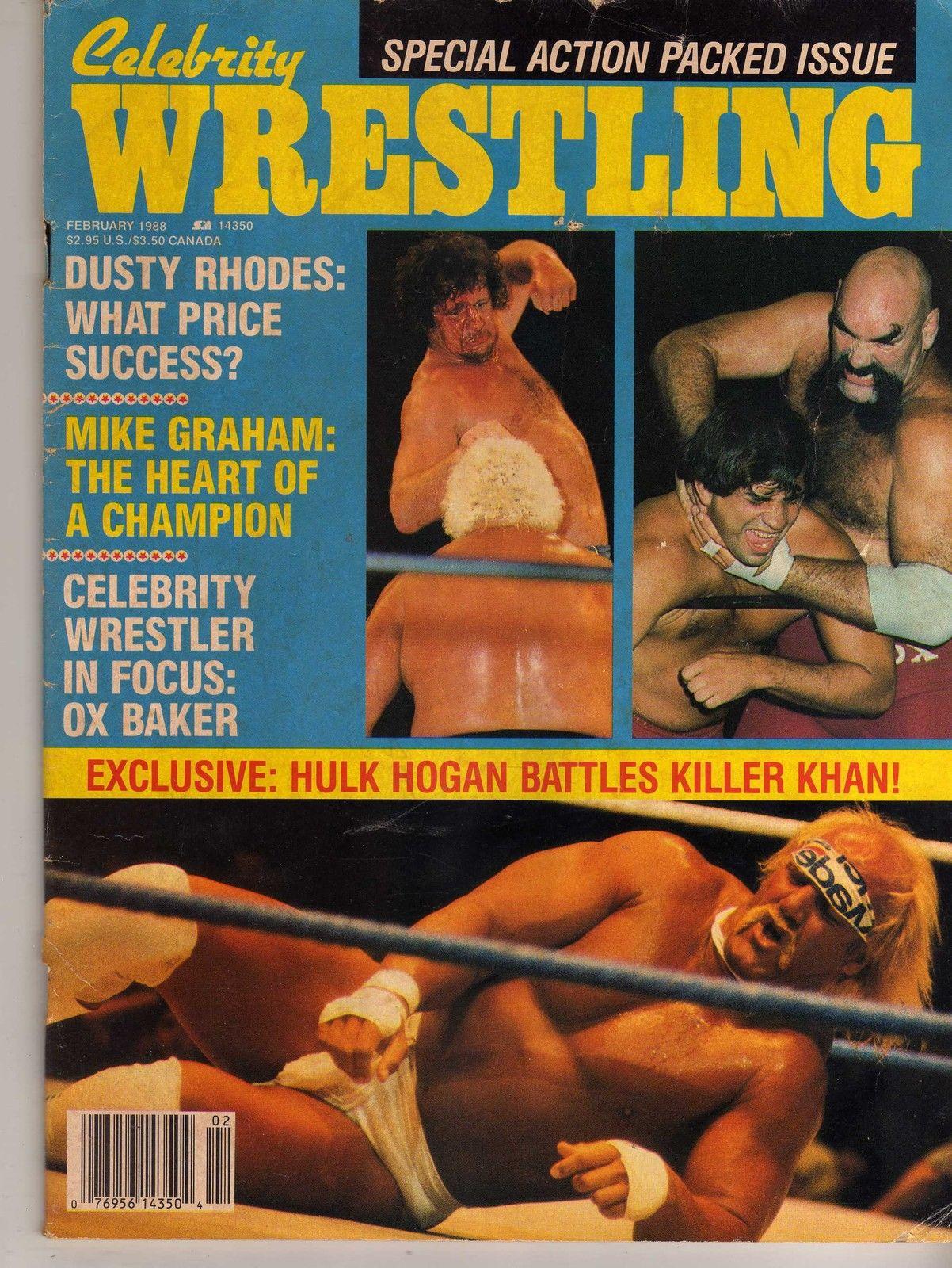 Celebrity Wrestling - February 1988