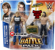Dean Ambrose & Seth Rollins - WWE Battle Packs 36