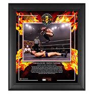 Finn Balor NXT TakeOver XXX 2020 15x17 Commemorative Plaque