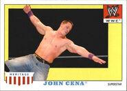 2008 WWE Heritage IV Trading Cards (Topps) John Cena 27