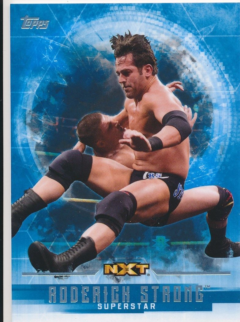 2017 WWE Undisputed Wrestling Cards (Topps) Roderick Strong (No.52)