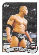 2018 WWE Heritage Wrestling Cards (Topps) The Rock 81