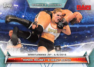 2019 WWE Women's Division (Topps) Ronda Rousey 69