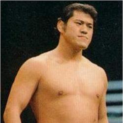Asiatischer Wrestler