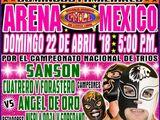 CMLL Domingos Arena Mexico (April 22, 2018)