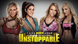 NXT Takeover Unstoppable - Charlotte & Bayley vs. Emma & Dana Brooke.jpg