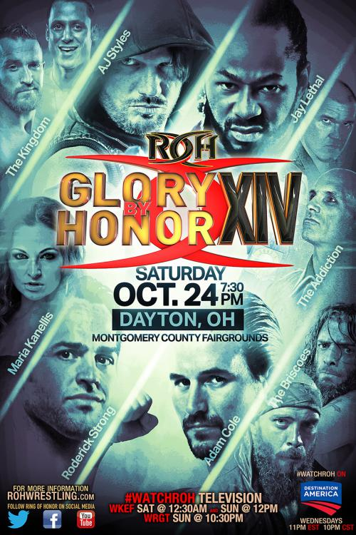 ROH Glory By Honor XIV