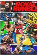 Royal Rumble 2021 poster