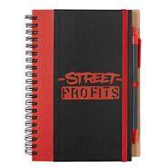 Street Profits Profits Are Up Notebook & Pen