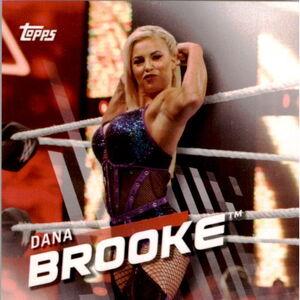 2016 WWE Divas Revolution Wrestling (Topps) Dana Brooke 20.jpg