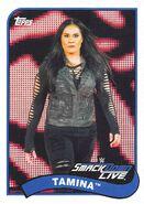 2018 WWE Heritage Wrestling Cards (Topps) Tamina 78