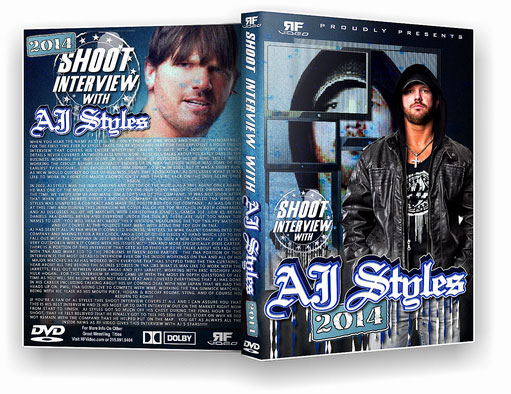 AJ Styles 2014 Shoot Interview