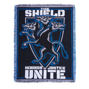 The Shield Hounds of Justice United Tapestry Blanket