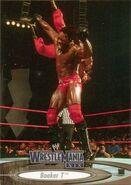 2003 WWE WrestleMania XIX (Fleer) Booker T 55