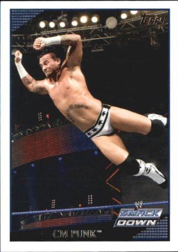 2009 WWE (Topps) CM Punk (No.3)