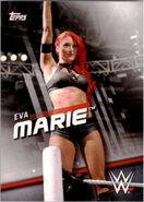2016 WWE Divas Revolution Wrestling (Topps) Eva Marie 23
