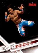 2017 WWE Wrestling Cards (Topps) Xavier Woods 34