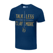 Drew McIntyre Talk Less, Clay More Authentic T-Shirt