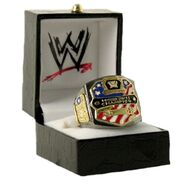 WWE United States Championship Finger Ring
