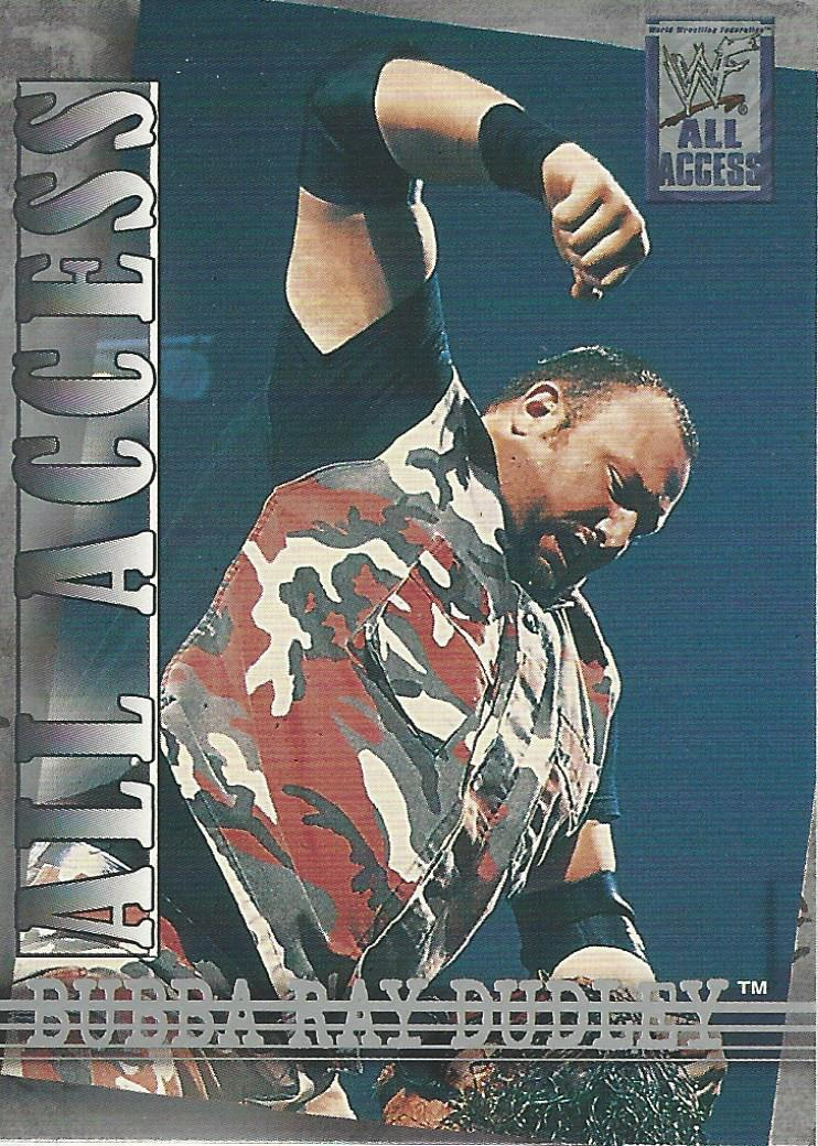 2002 WWF All Access (Fleer) Bubba Ray Dudley (No.37)