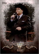2016 Topps WWE Undisputed Wrestling Cards Jim Ross 64