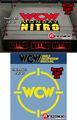 2 WCW Ring Skirts & 2 WCW Ring Mats