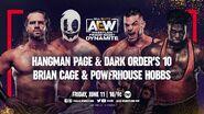 June 11, 2021 AEW Dynamite 3